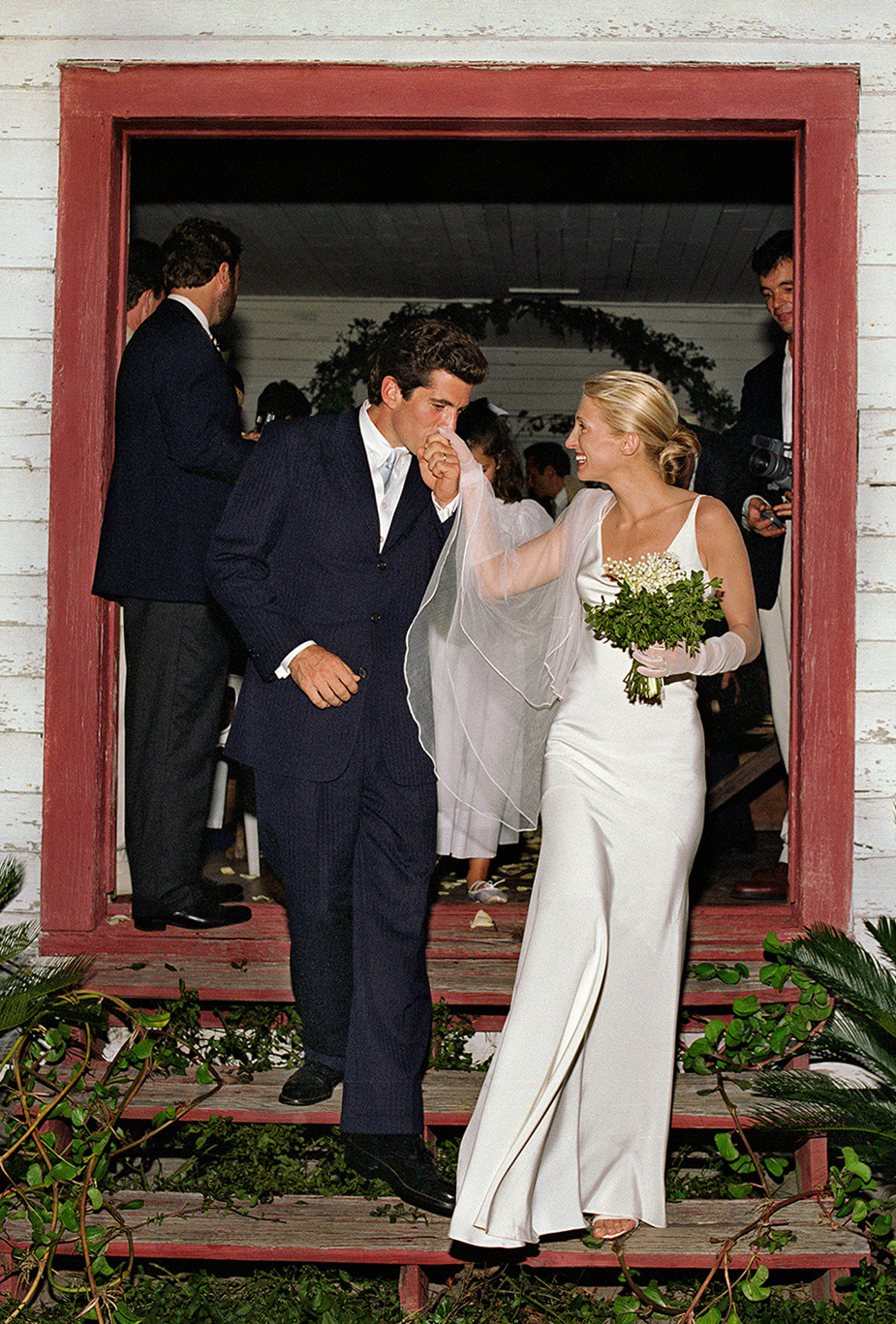 Iconic Bride: Carolyn Bessette-Kennedy- Photo by townandcountrymagazine.com