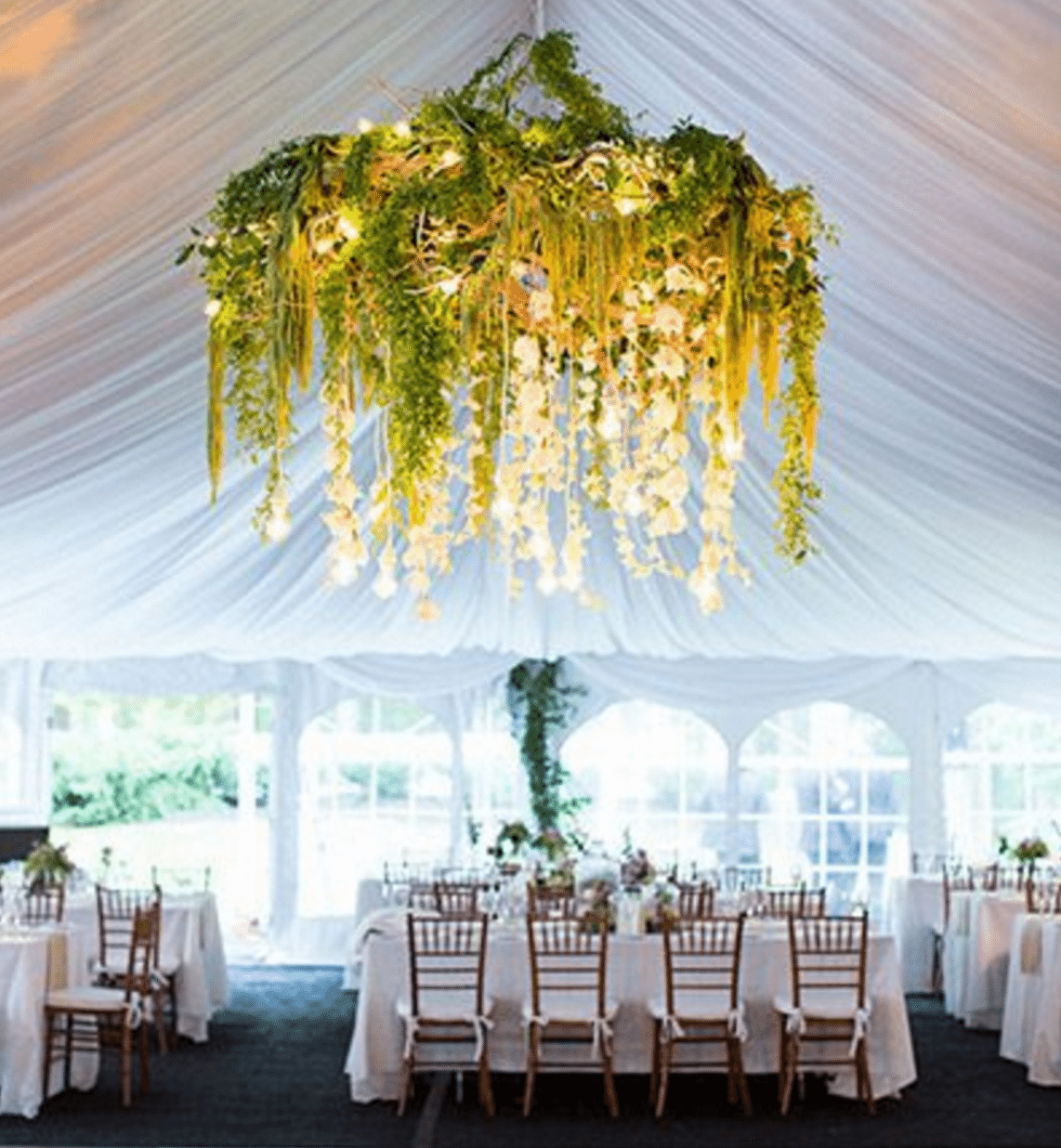 Ceiling Decor to Enhance Your Wedding- Sky\'s the Limit