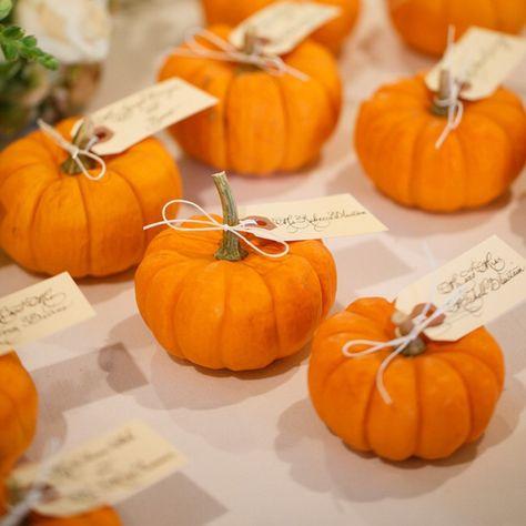 Rustic Fall Wedding, pumpkins