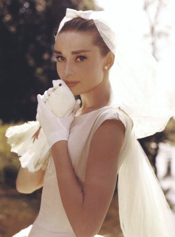 Iconic Bride Highlight: Audrey Hepburn & Her Three Wedding Gowns