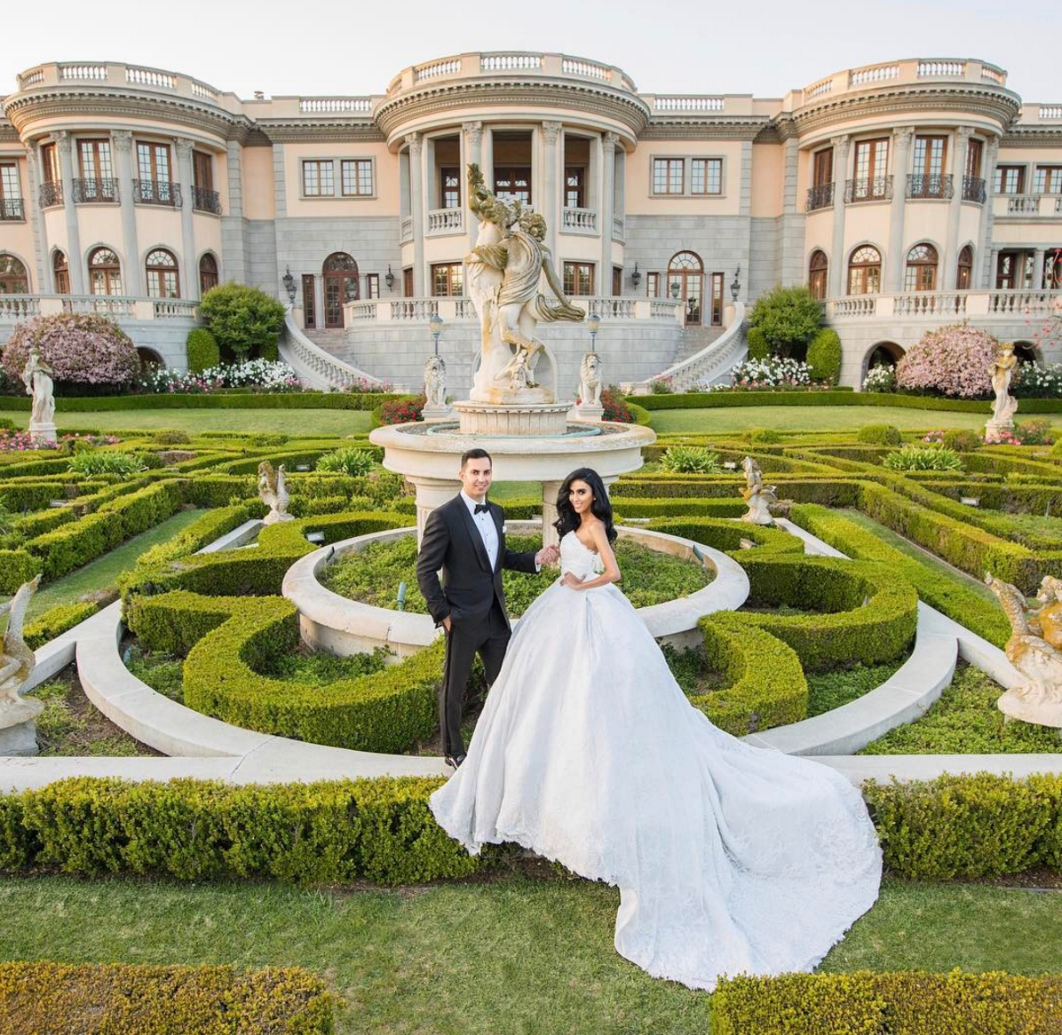 Celebrity Wedding Hosted By Estates
