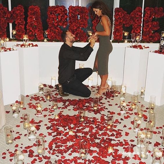 Valentines Day Proposal Inspiration