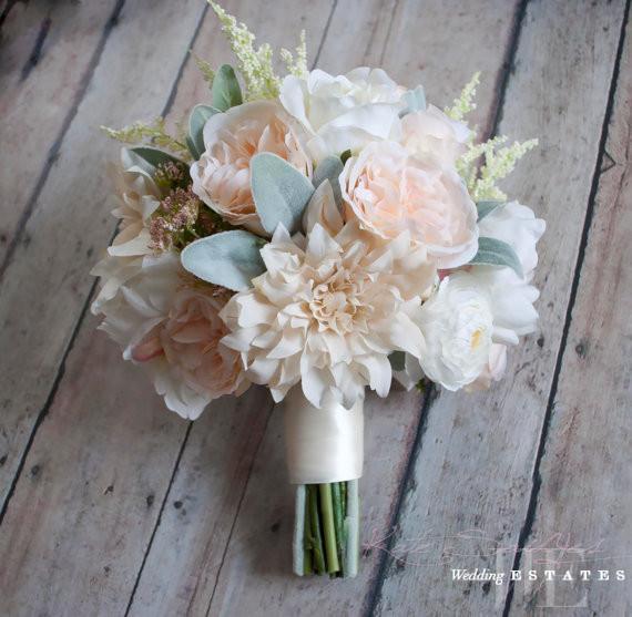 Dahlia Wedding Bouquets