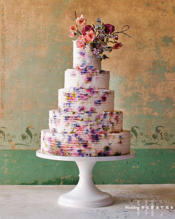 Summer Inspired Wedding Cakes